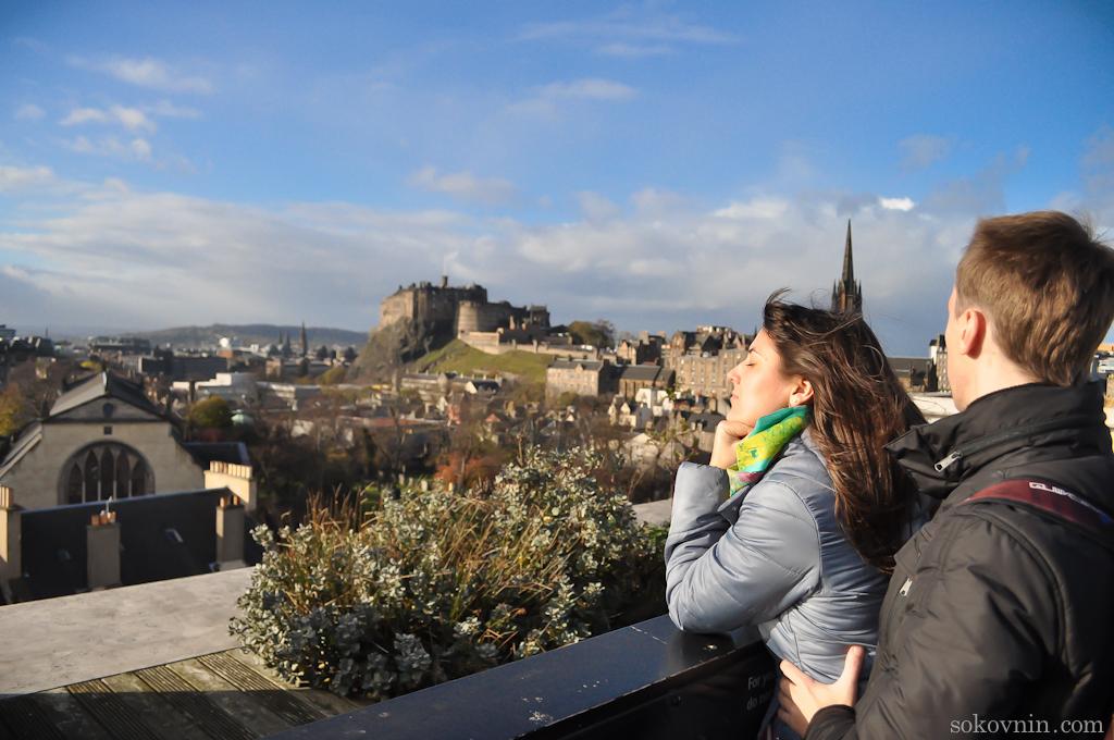 Смотровая площадка в музее Шотландии