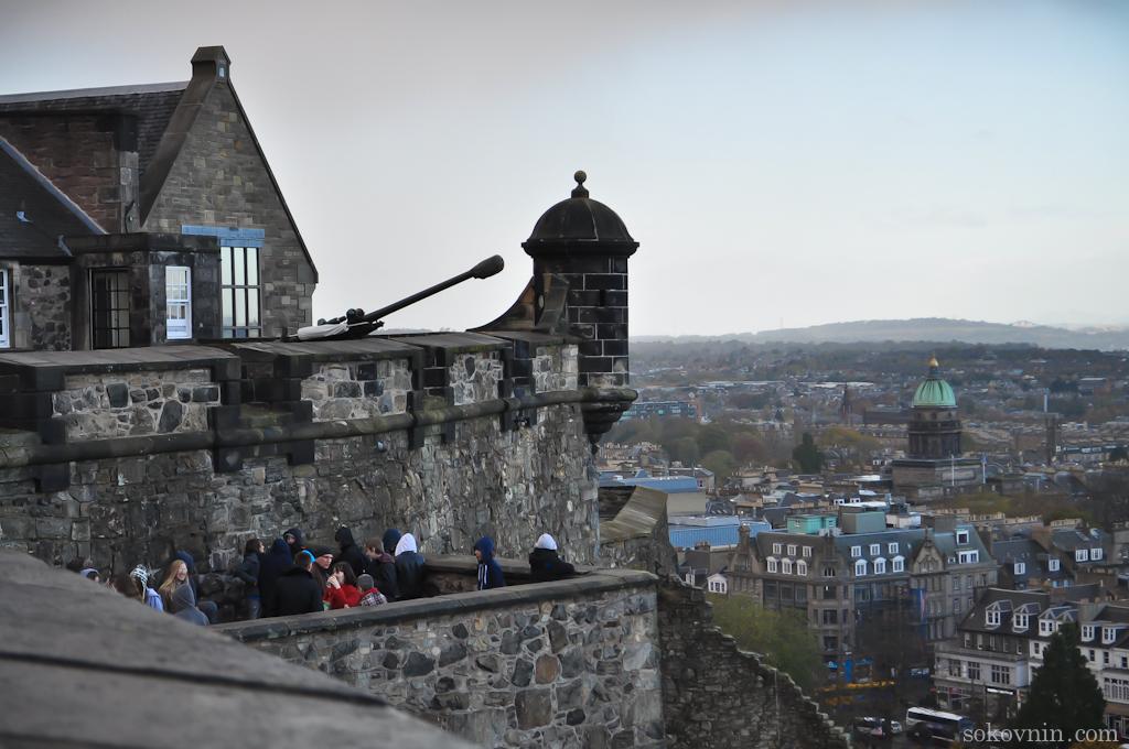 Пушка одного часа в Эдинбурге