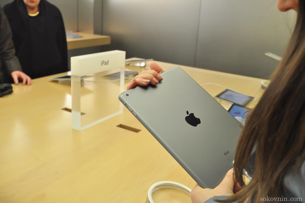 Новые iPad Air в Шотландии