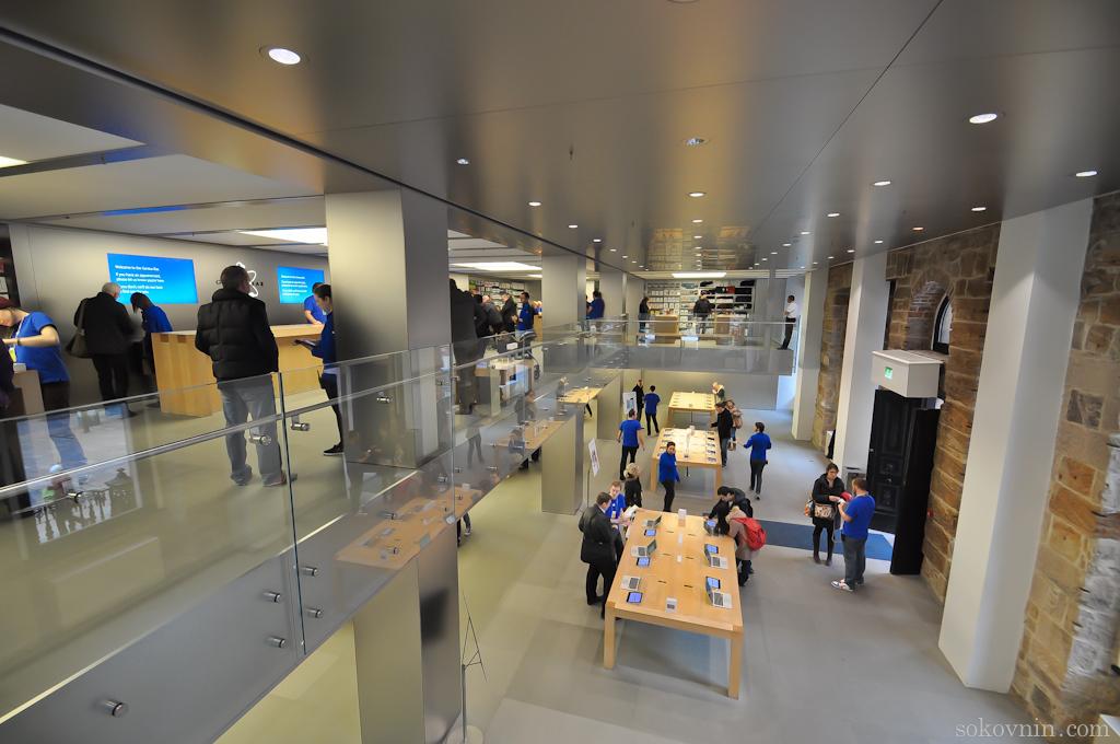 Магазин Apple в Глазго