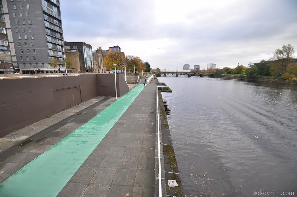 Река в Глазго