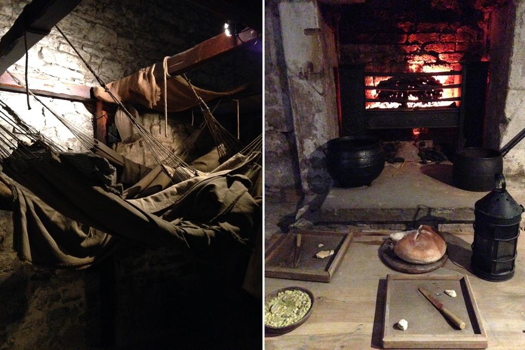 Подземелье Эдинбургского замка