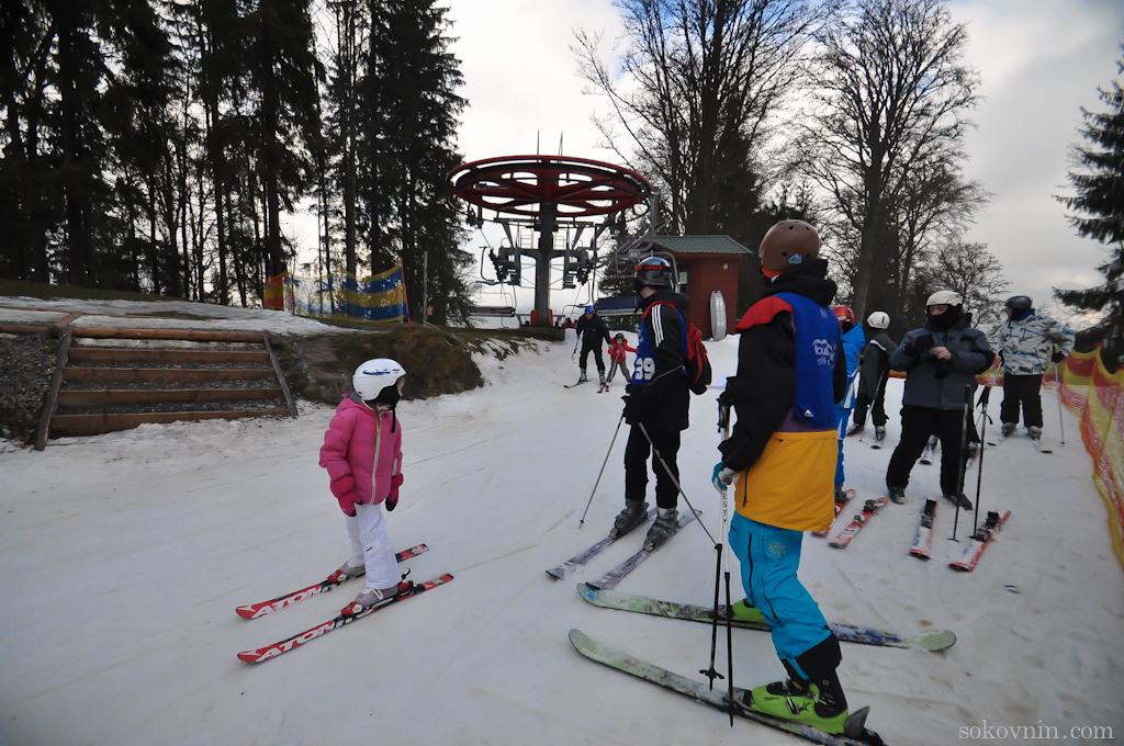 Горные лыжи в Буковеле
