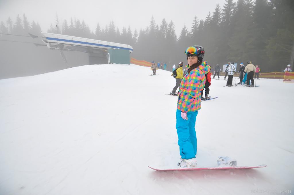 Катаемся на сноубордах