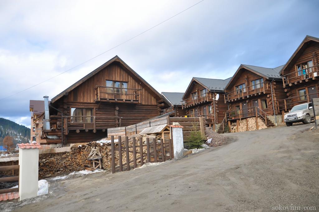 Домики в Буковеле