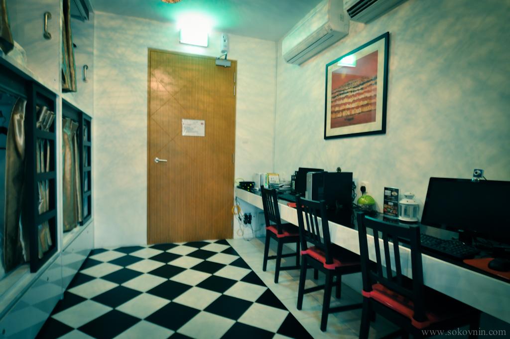 Капсульный хостел Vintage INN в Сингапуре