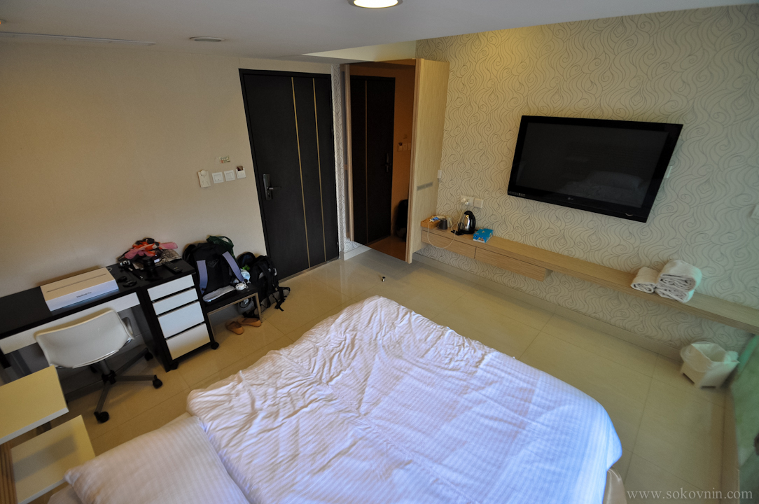Наша квартира в Гонконге