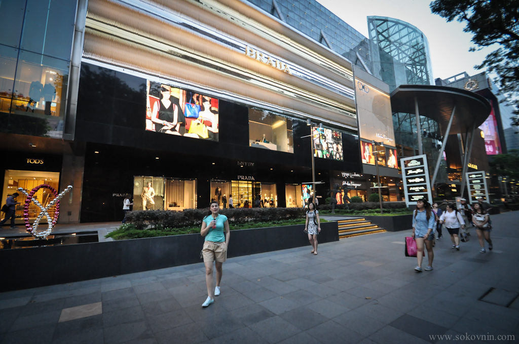 Улицы в Сингапуре