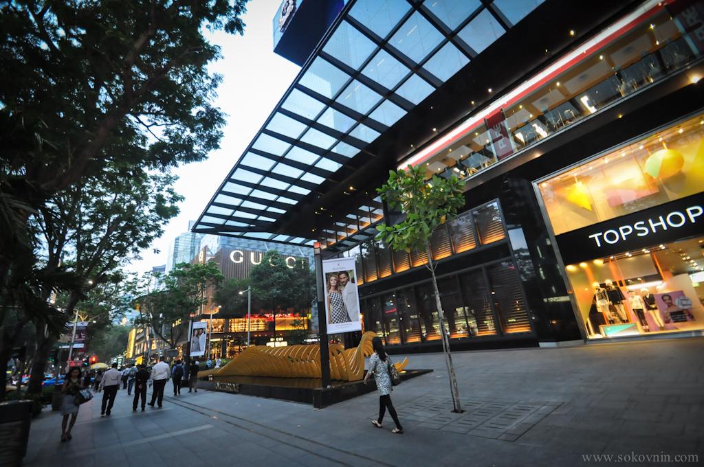 Торговые центры в Сингапуре