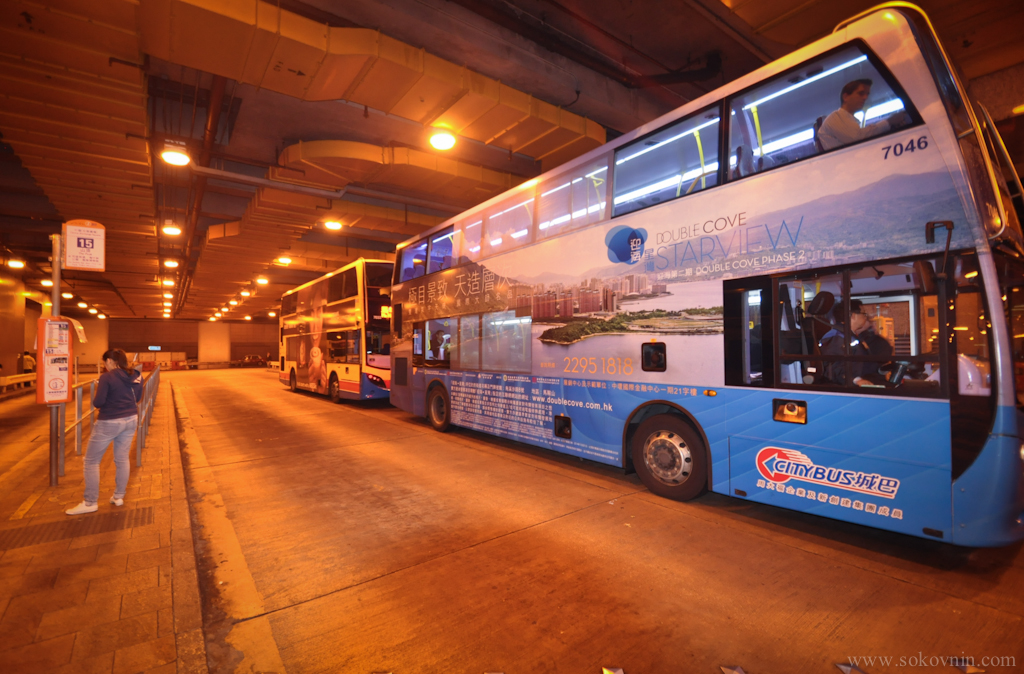 Автобус №15 на Пик Виктории