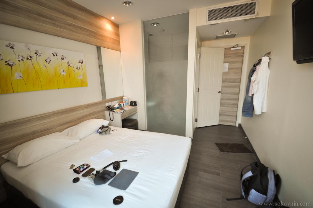 Наш отель Dickson 81 в Сингапуре