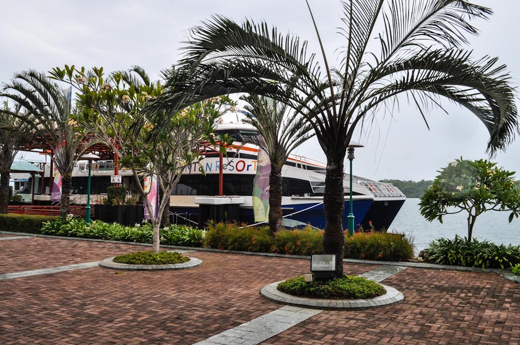 Порт на Бинтане