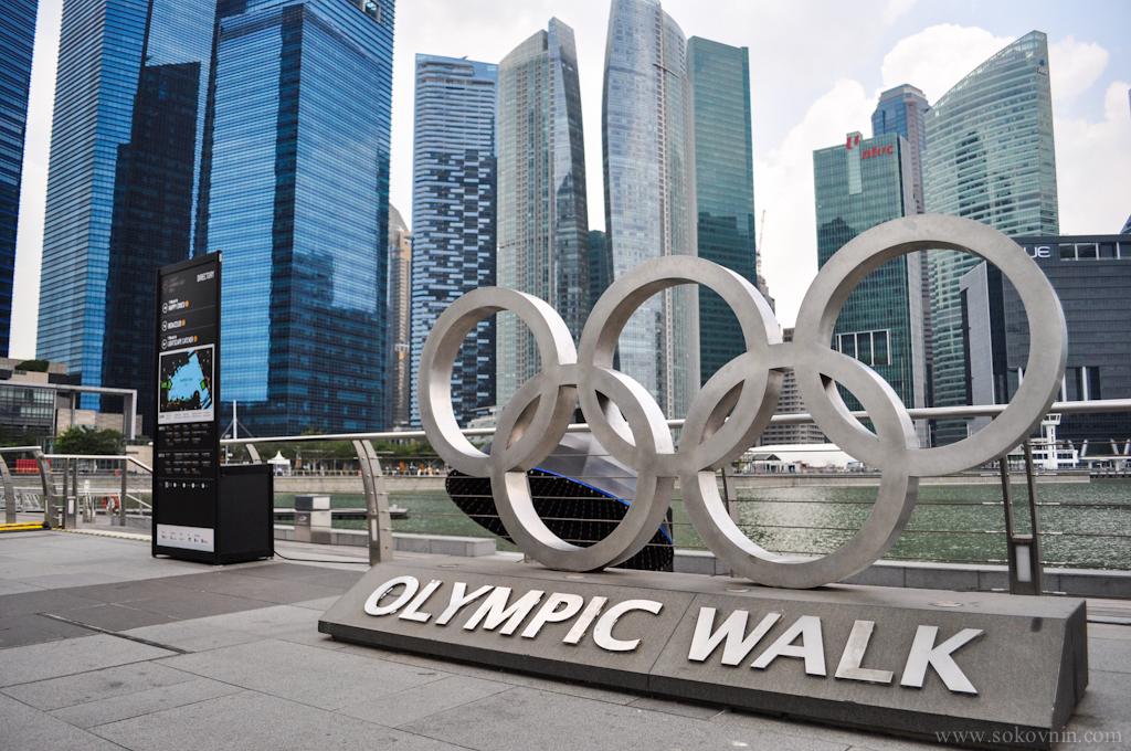 Olynpic walk