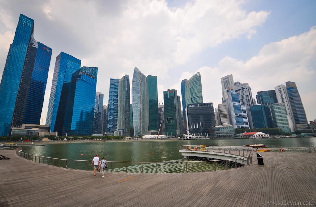 Небоскрёбы в Сингапуре