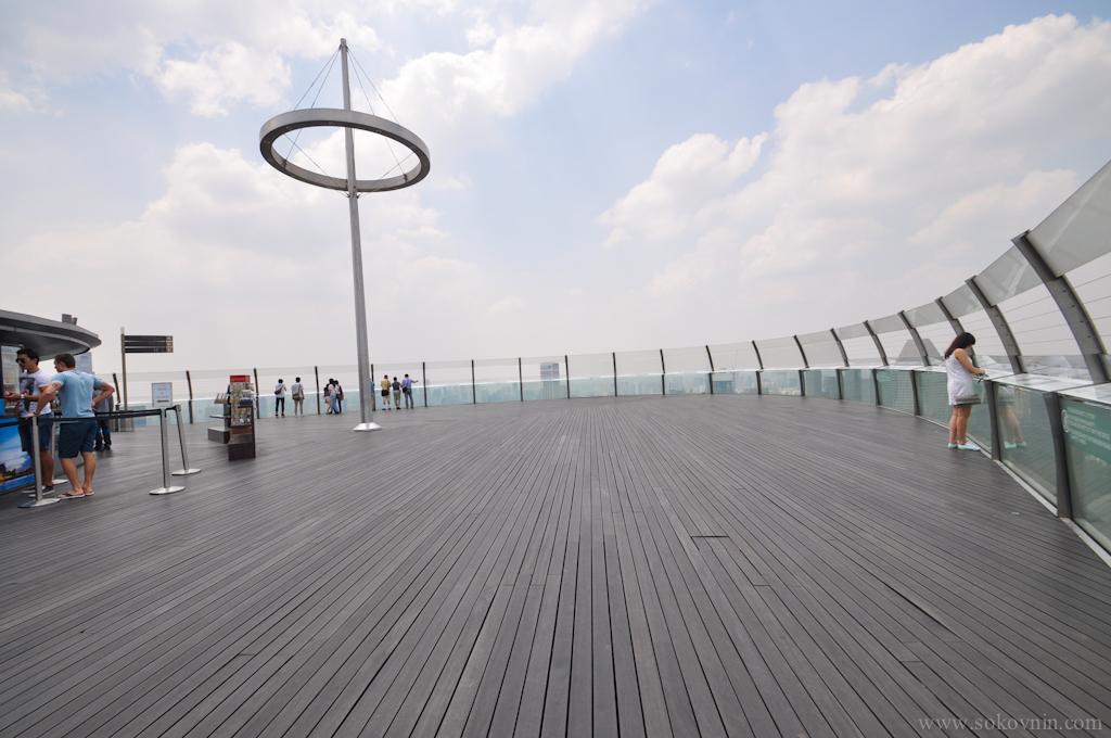 Смотровая площадка Marina Bay