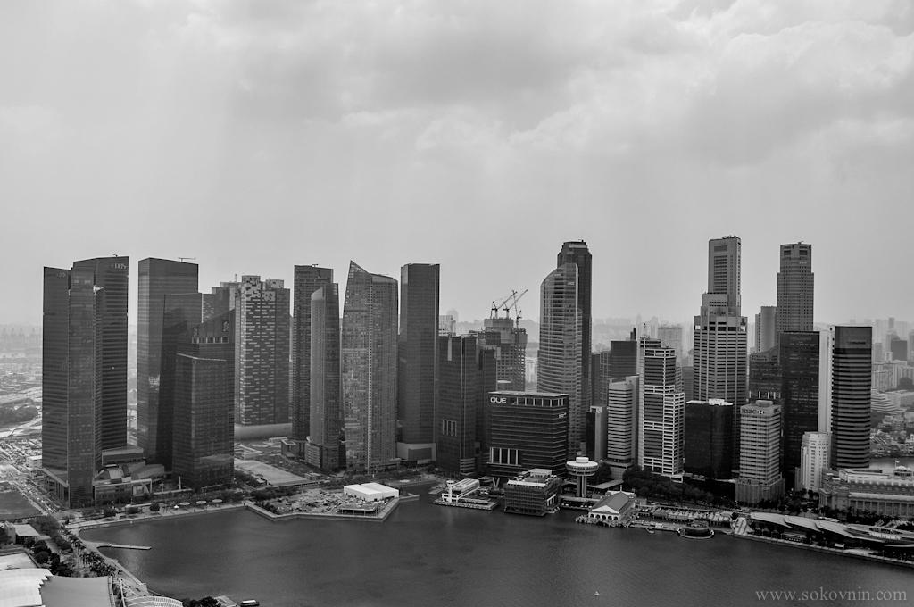 Город небоскрёбов в Сингапуре