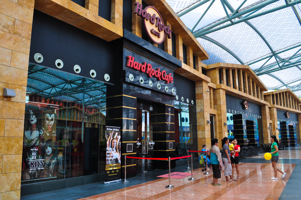 Hard Rock Cafe на Сентозе