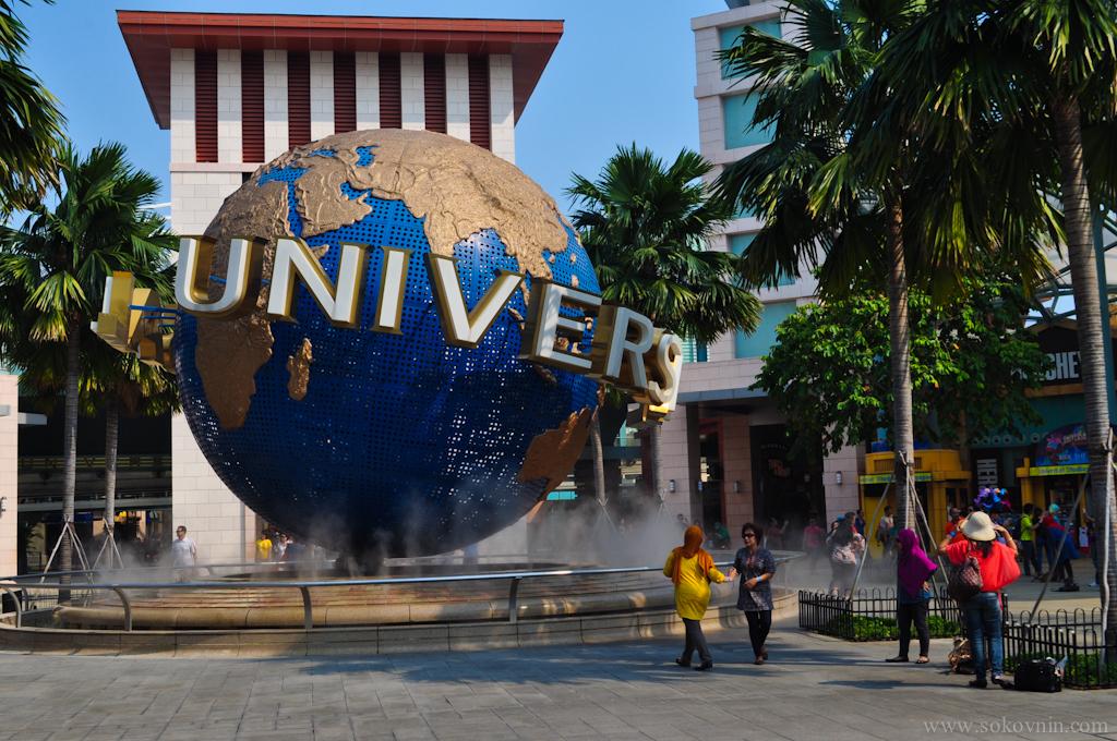 Universal парк на сентозе