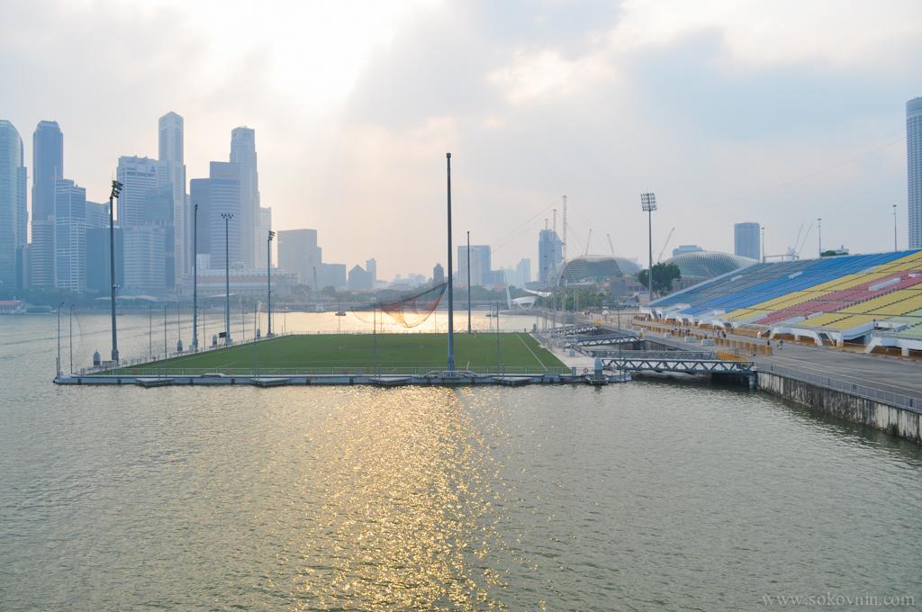 Стадион на воде в Сингапуре