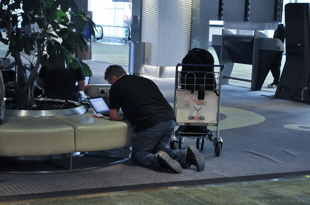 Интернет в аэропорту Сингапура