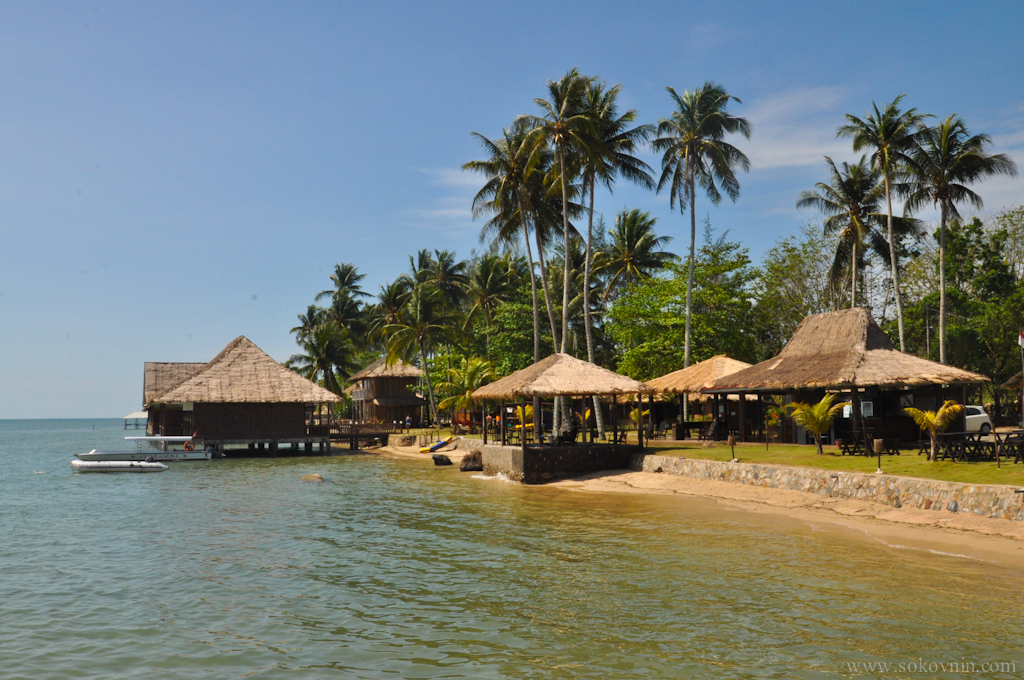 Территория отеля Bintan Spa Villa Resort