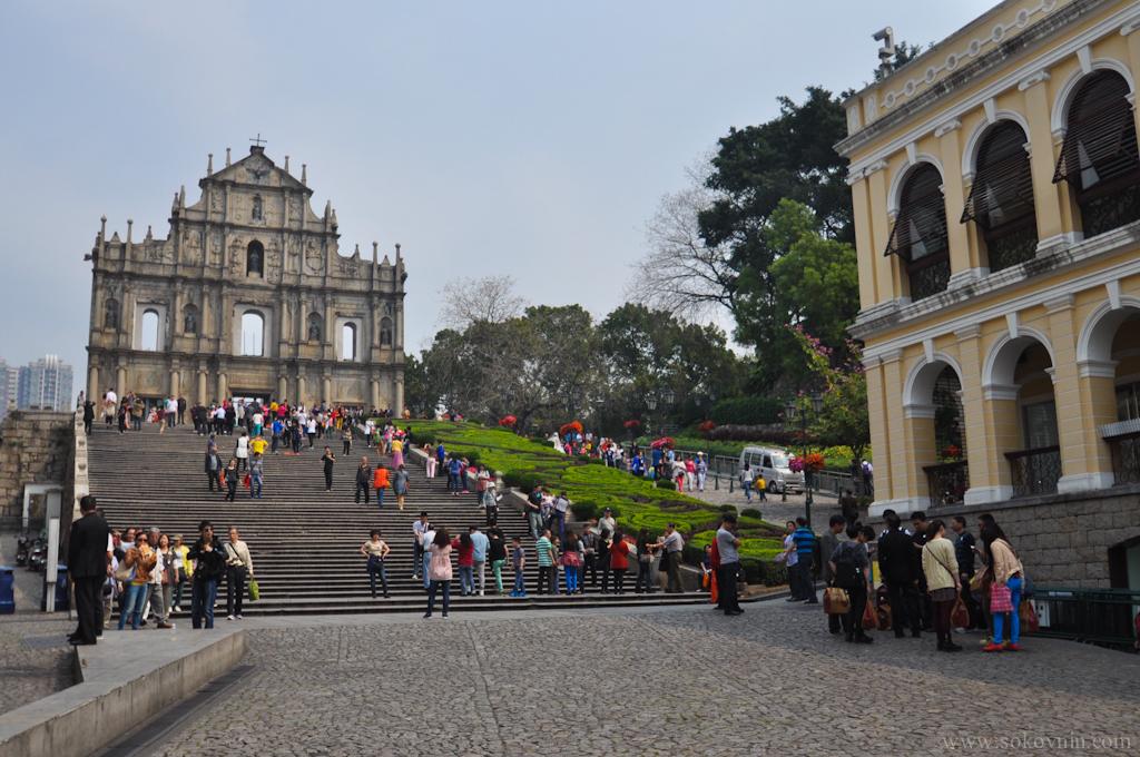 Руины собора Святого Павла в Макао