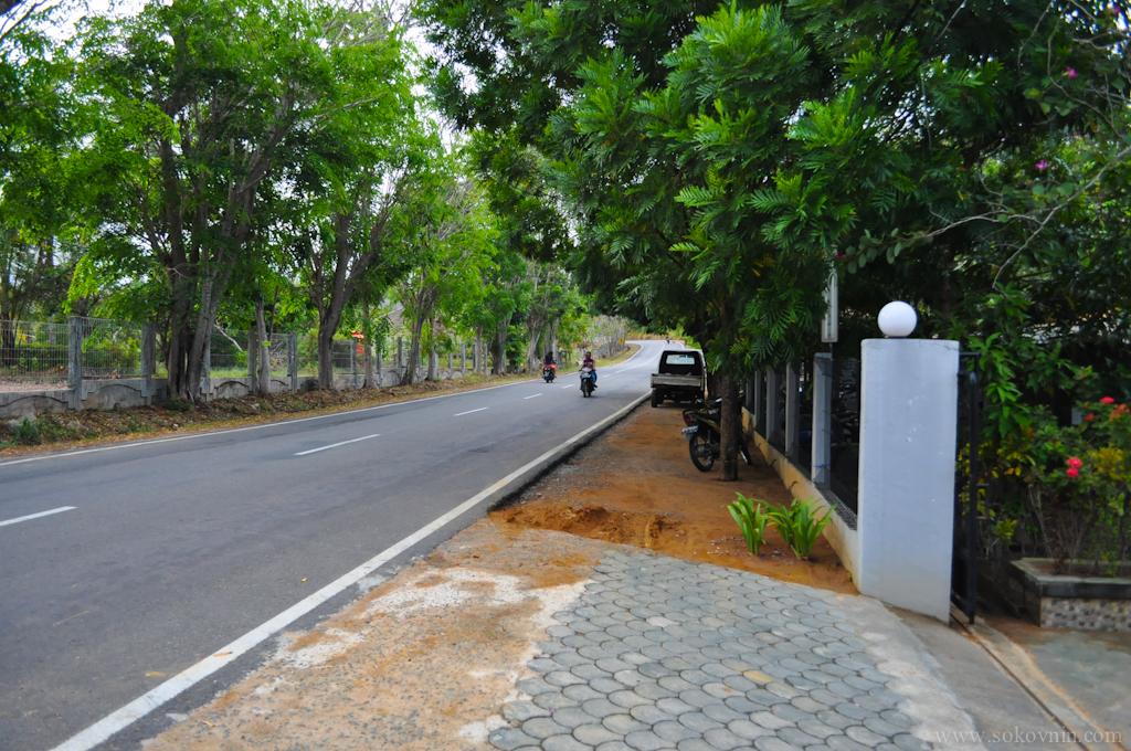 Автомобильная дорога на Бинтане
