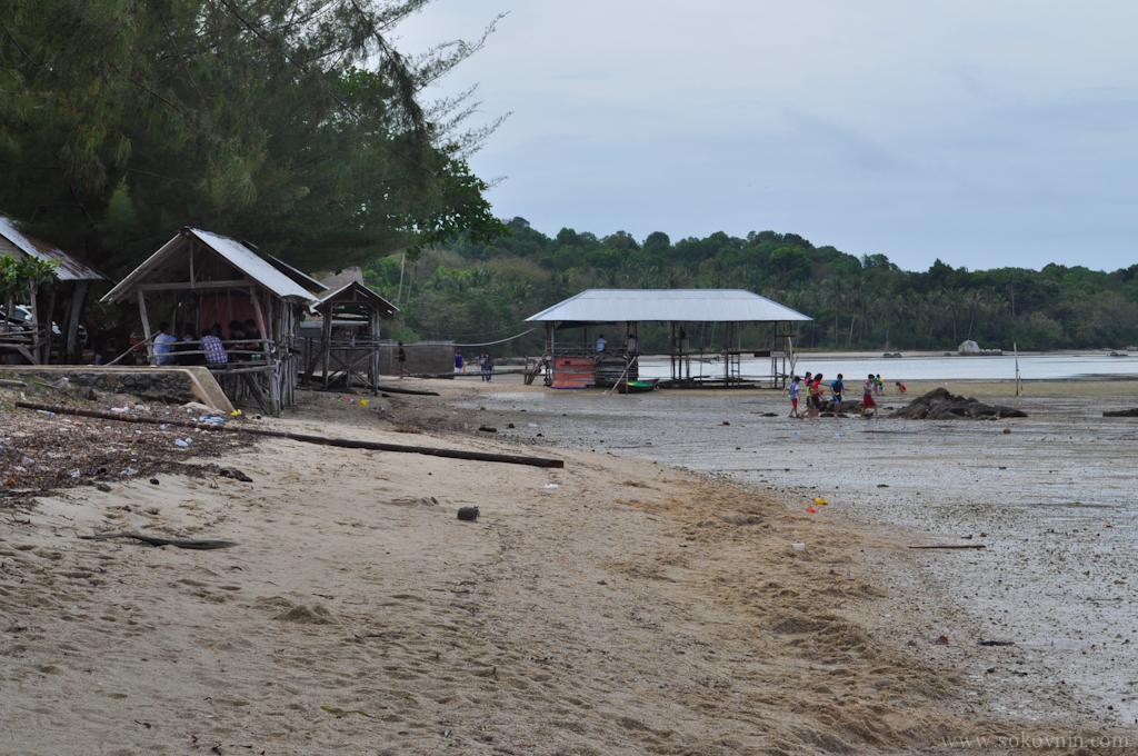 Пляж на Бинтане