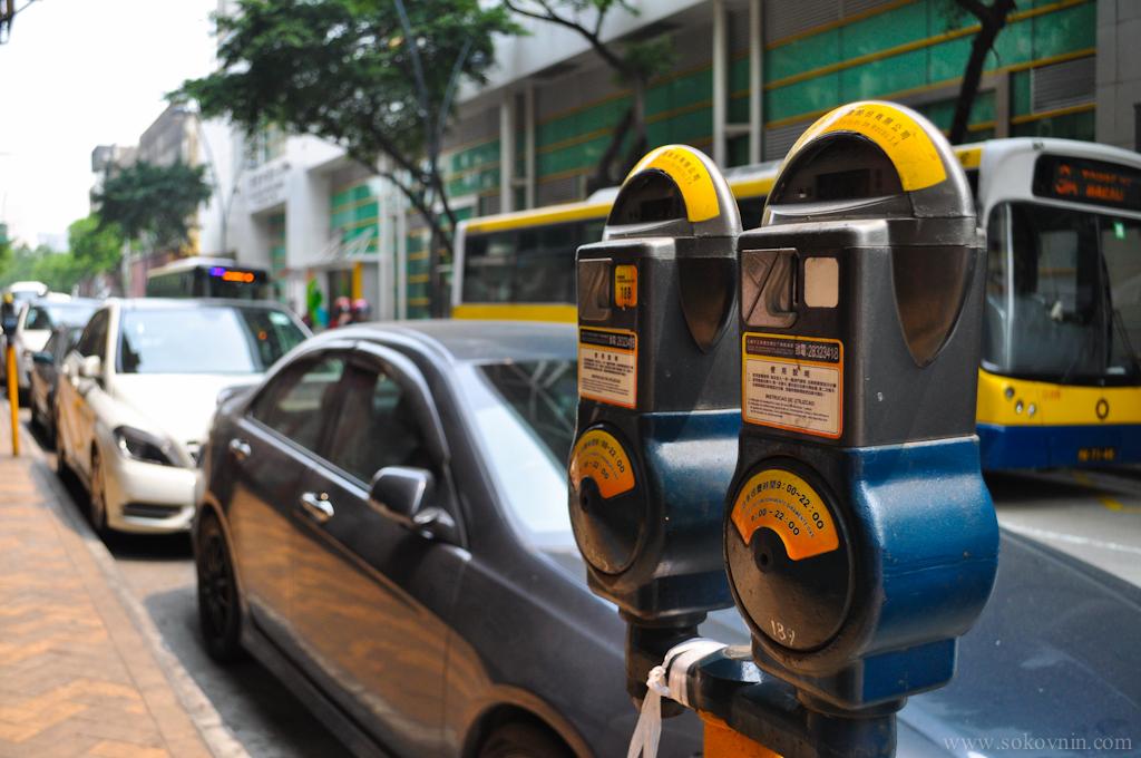 Парковочные автоматы в Макао