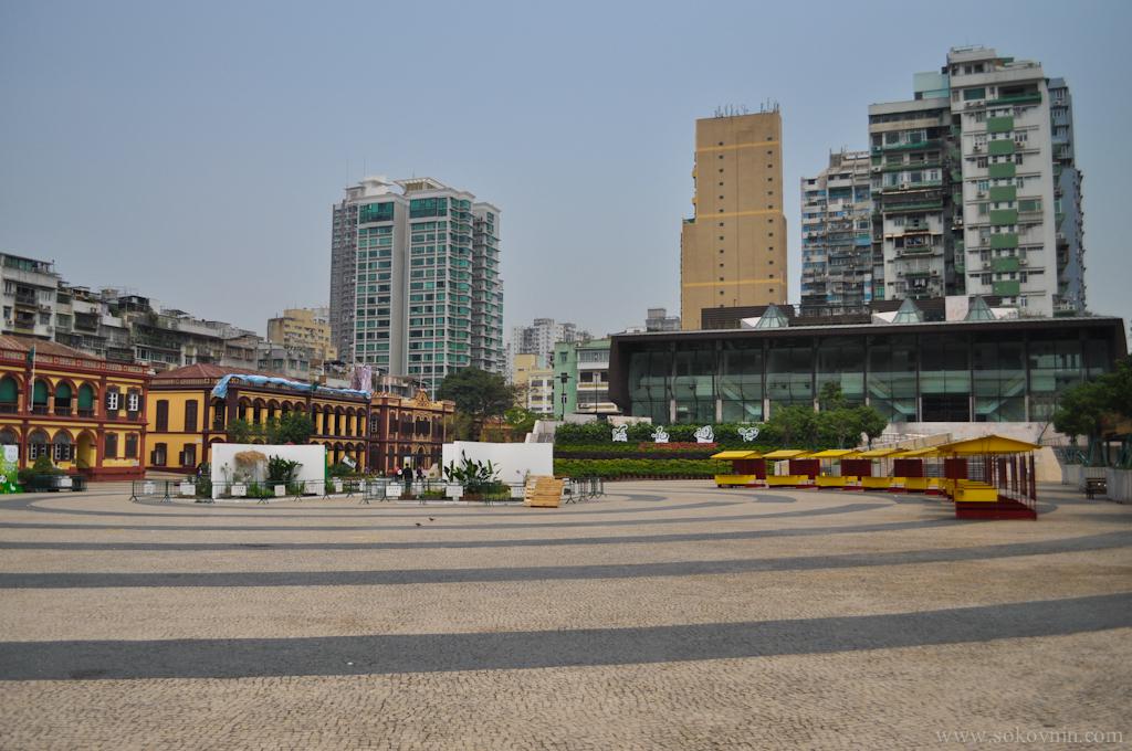 Площадь в Макао