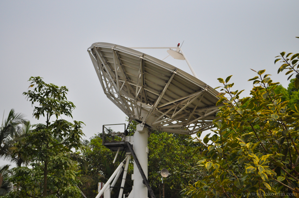 Спутниковая антенна в Макао