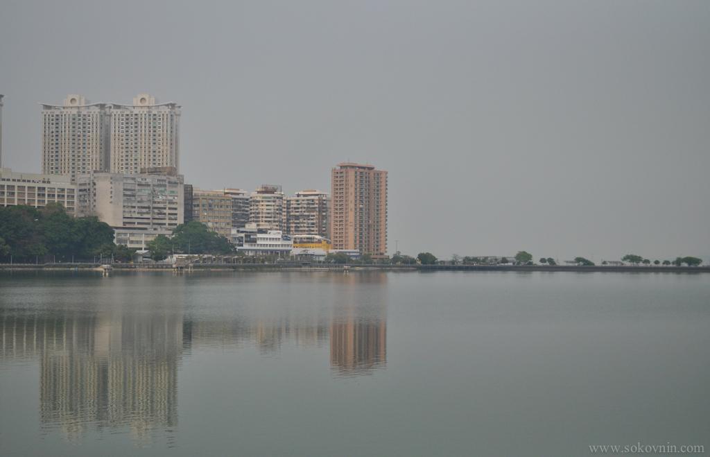 Залив в Макао
