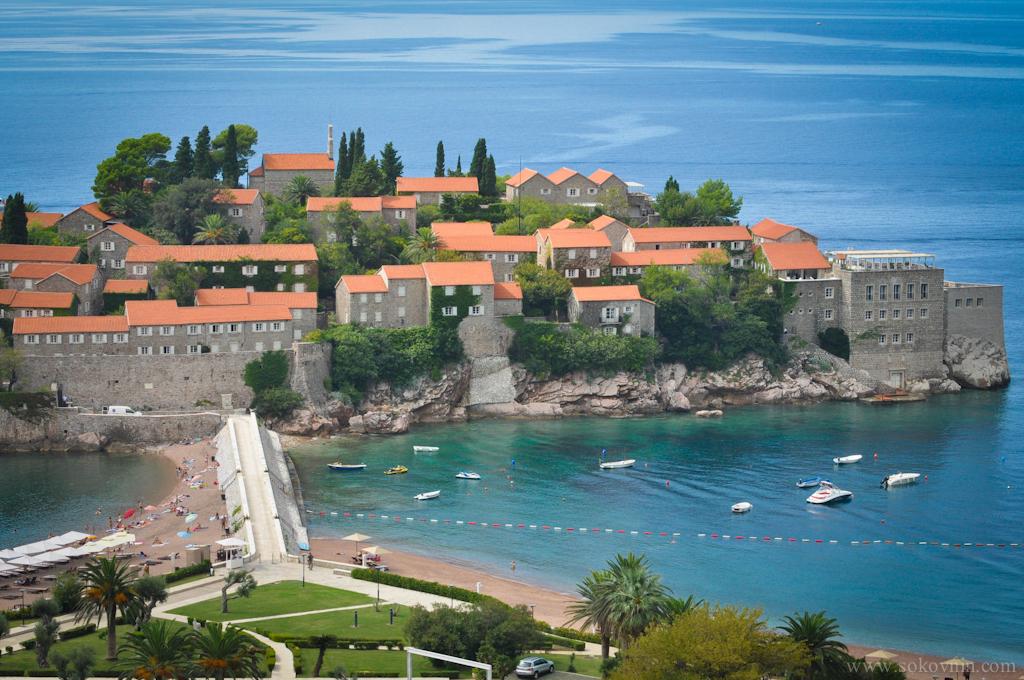 Отель Святой Стефан в Черногории