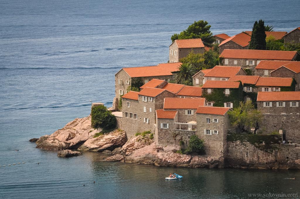 Отель на полуострове Святой Стефан