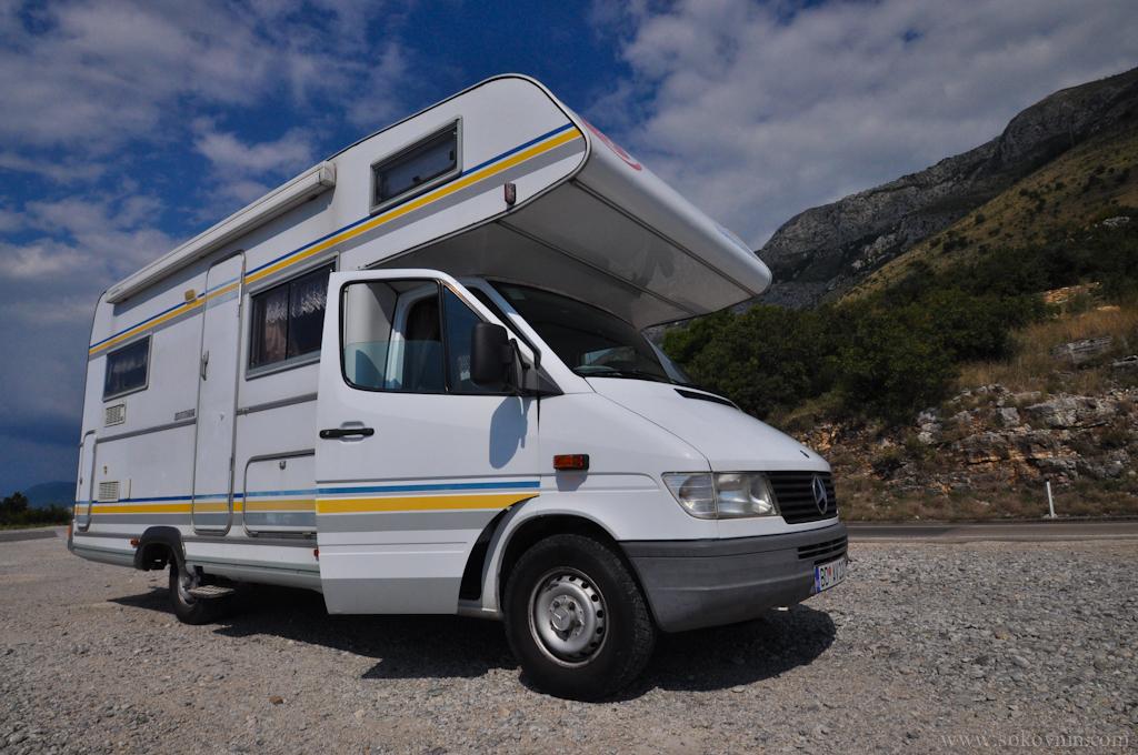 Автодом Мерседес в Черногории в аренду