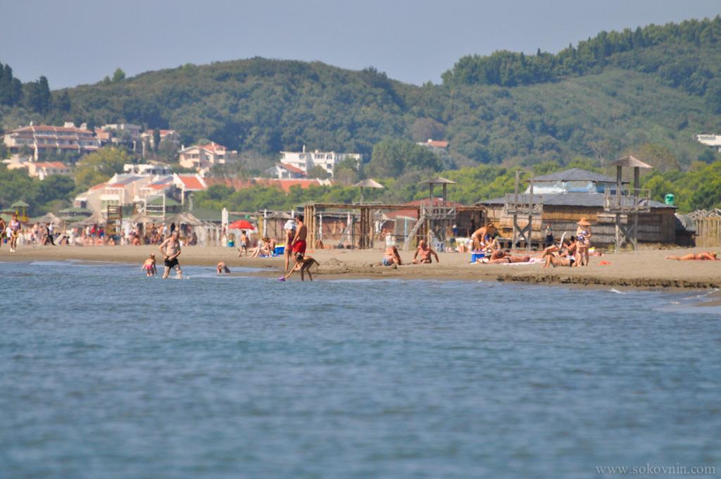 Великий пляж в Ульцине