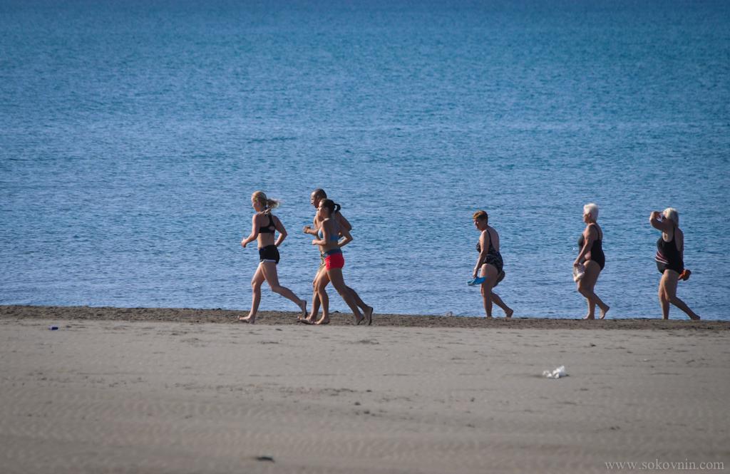 Утренняя пробежка вдоль побережья