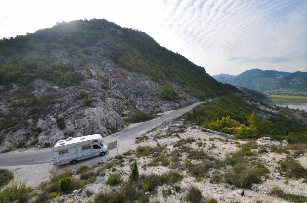 Автодом в Черногории