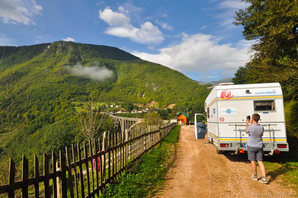 Путешествие на автодоме по Черногории