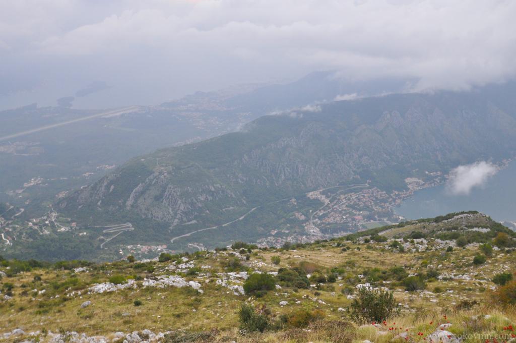 Которская бухта вид с горы