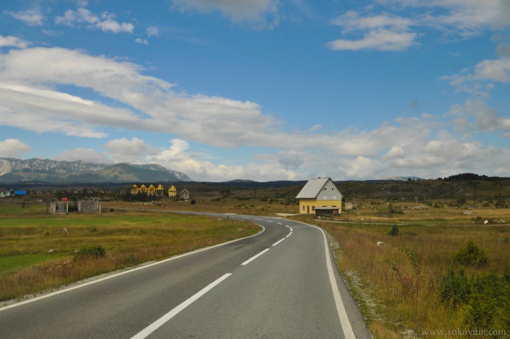 Дорога в Дурмитор