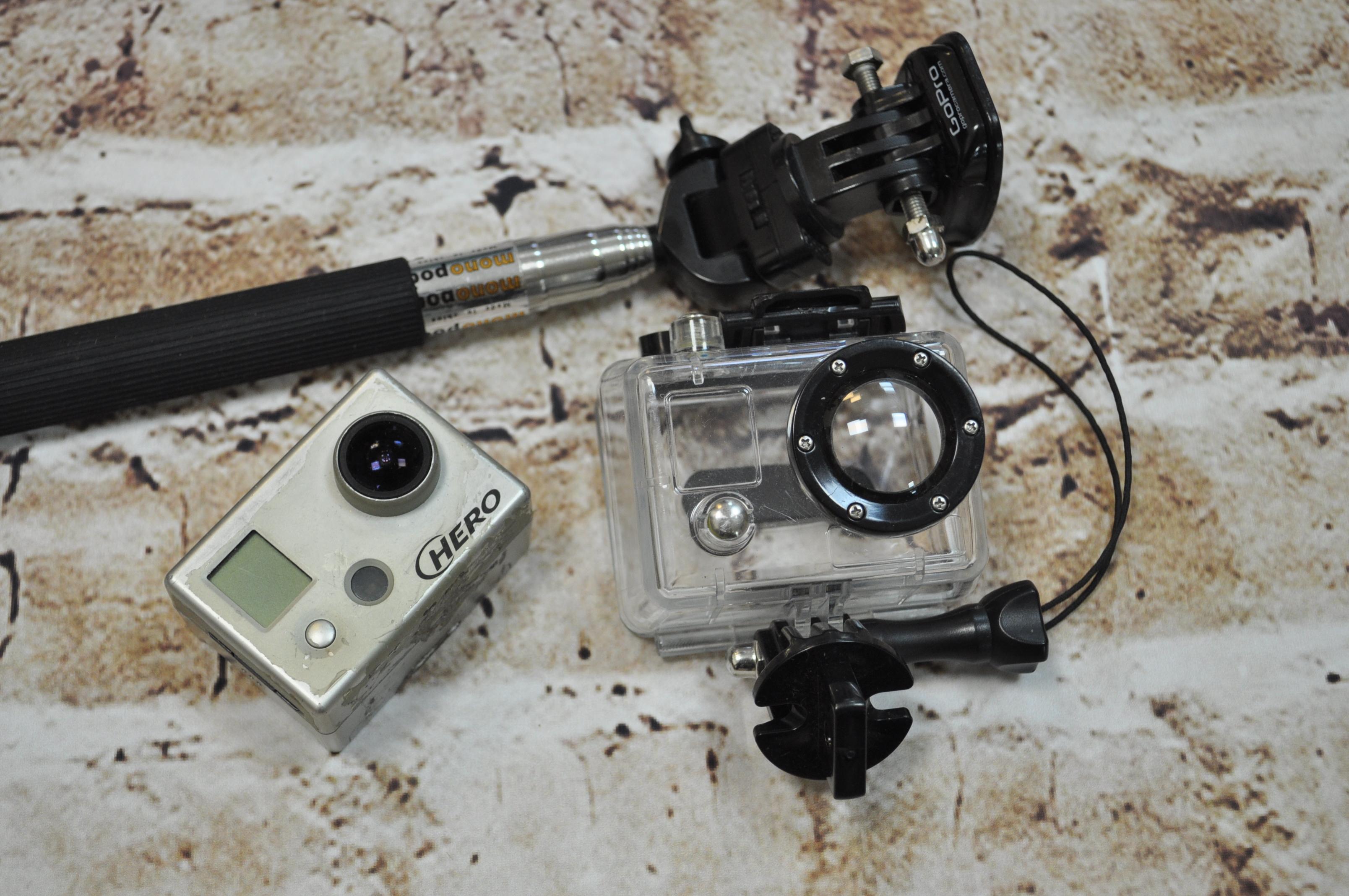 Моя старая GoPro Hero