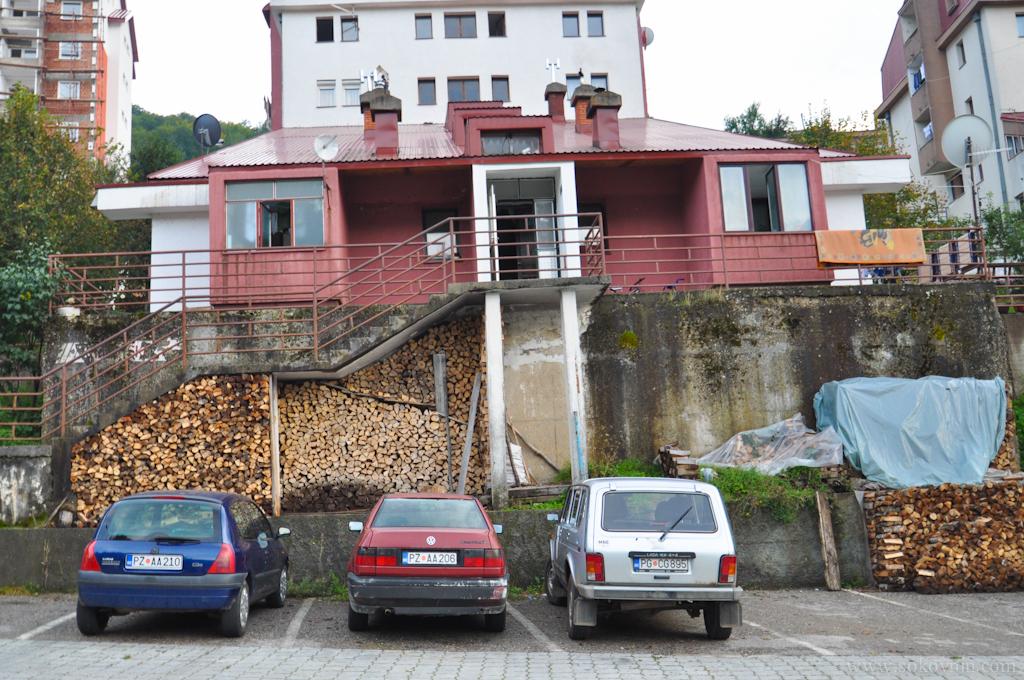 Дровяное отопление в Черногории