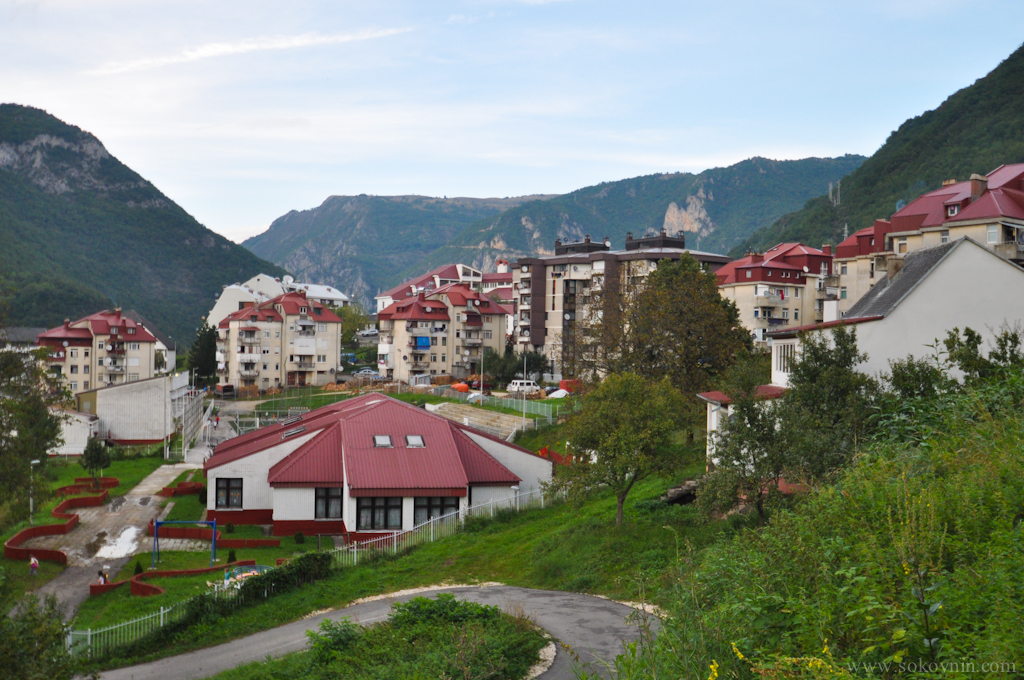 Маленький городок в Черногории