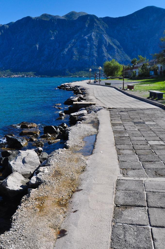 Черногория, красивое побережье
