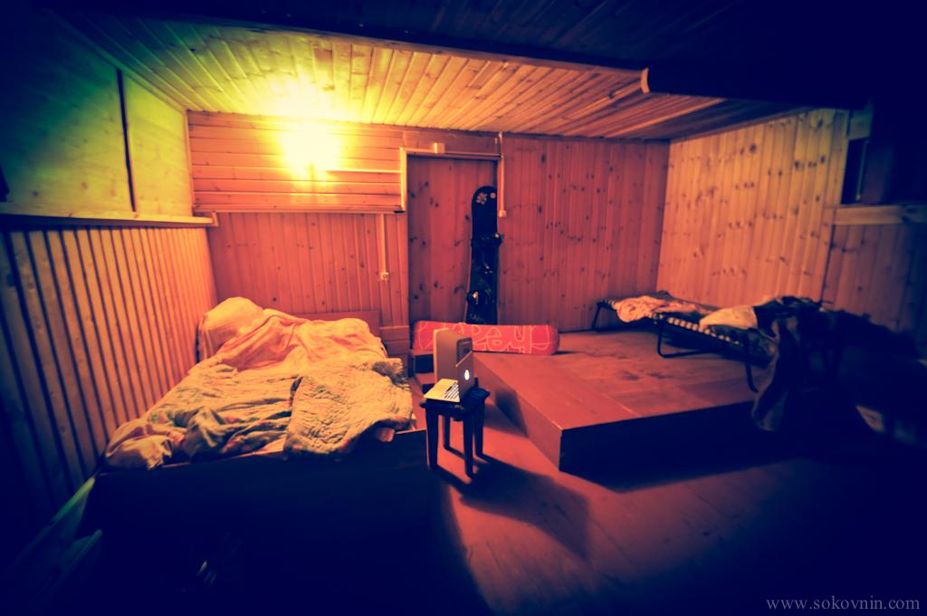 Ночёвка в старом доме