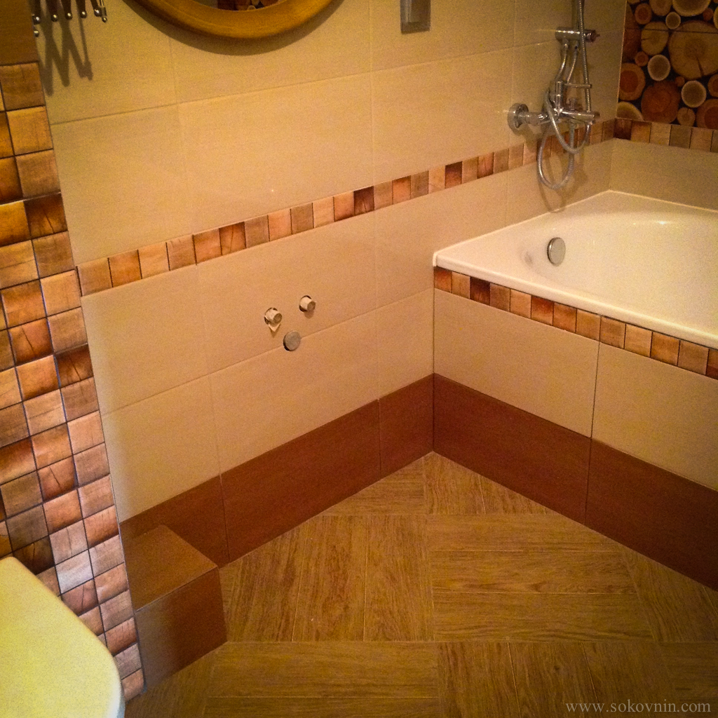 Делаем столешницу для раковины в ванной
