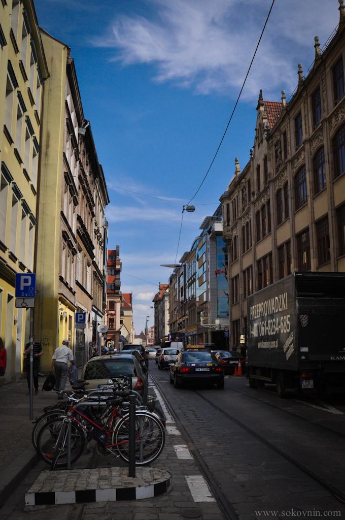 Улицы Врослава