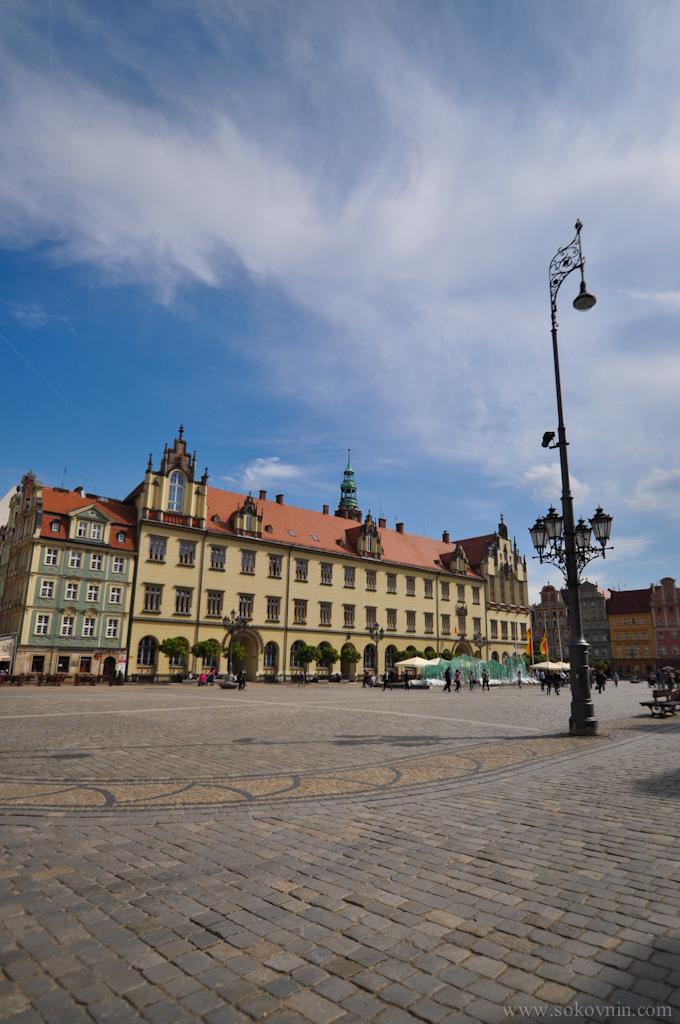 Площадь во Врославе