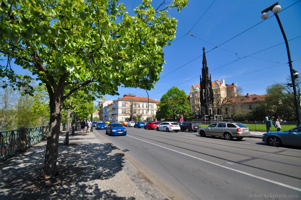 Набережная в Праге
